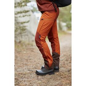 Lundhags Makke Pantalones Mujer, amber/rust